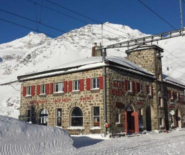 Wintersaison Alp Grüm